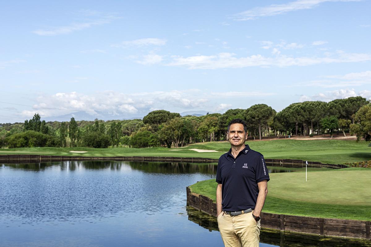 David Plana, consejero delegado de PGA Catalunya.