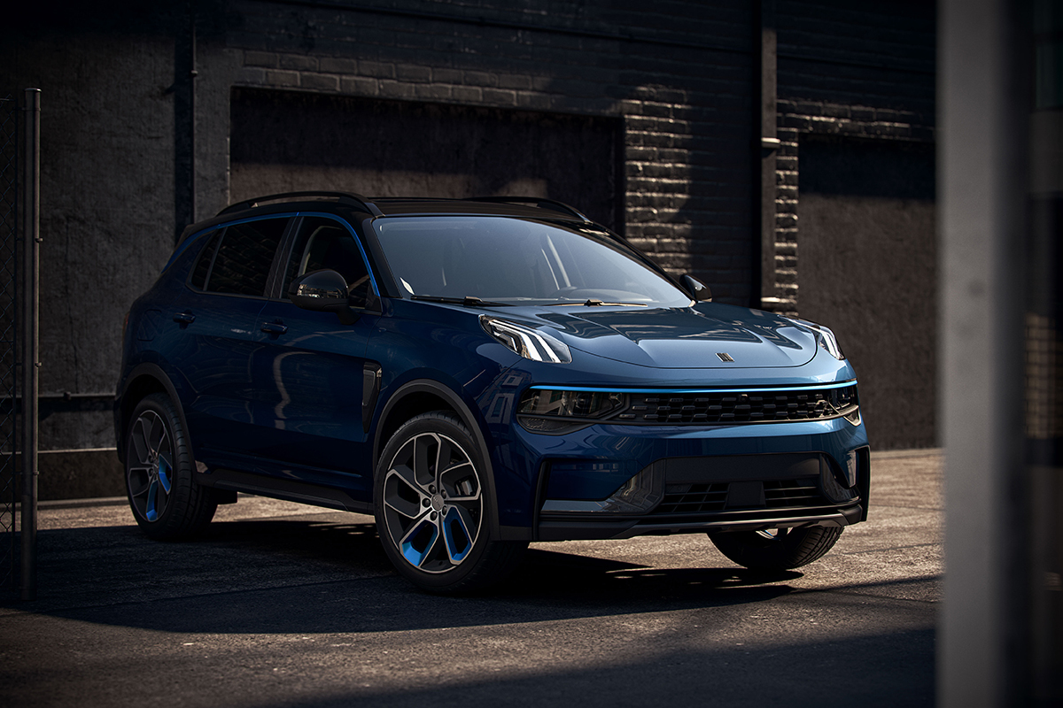 The Lynk & Co 01 is the only car they sell for now in Europe