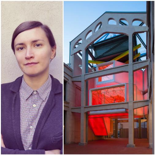 María Langarita, de Langarita-Navarro, y su proyecto Medialab Prado, en Matadero, Madrid.