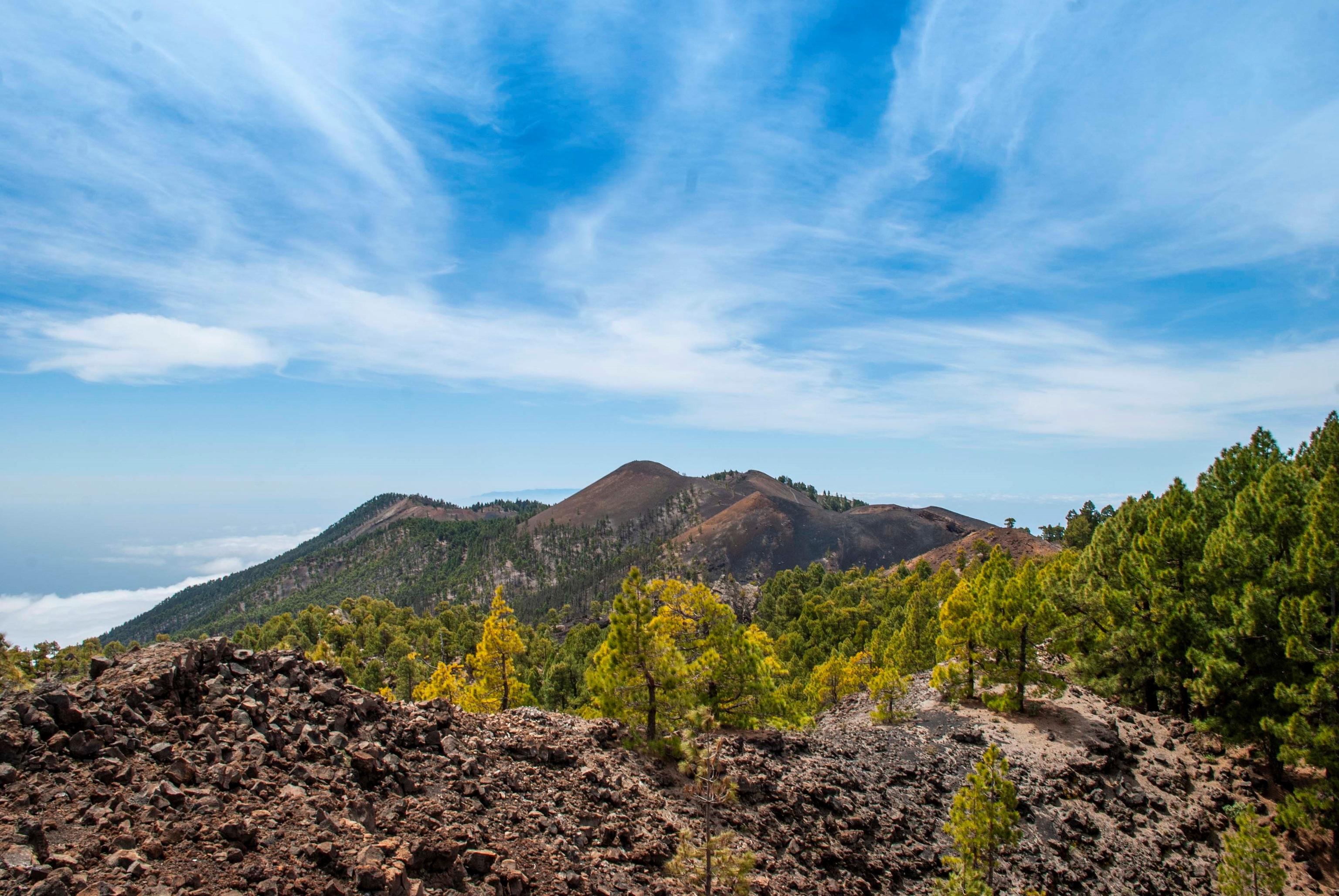 La Cumbre Vieja de La Palma.
