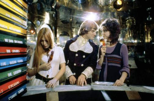 Un fotograma de 'La naranja mecánica' (1971). La película de Kubrick...