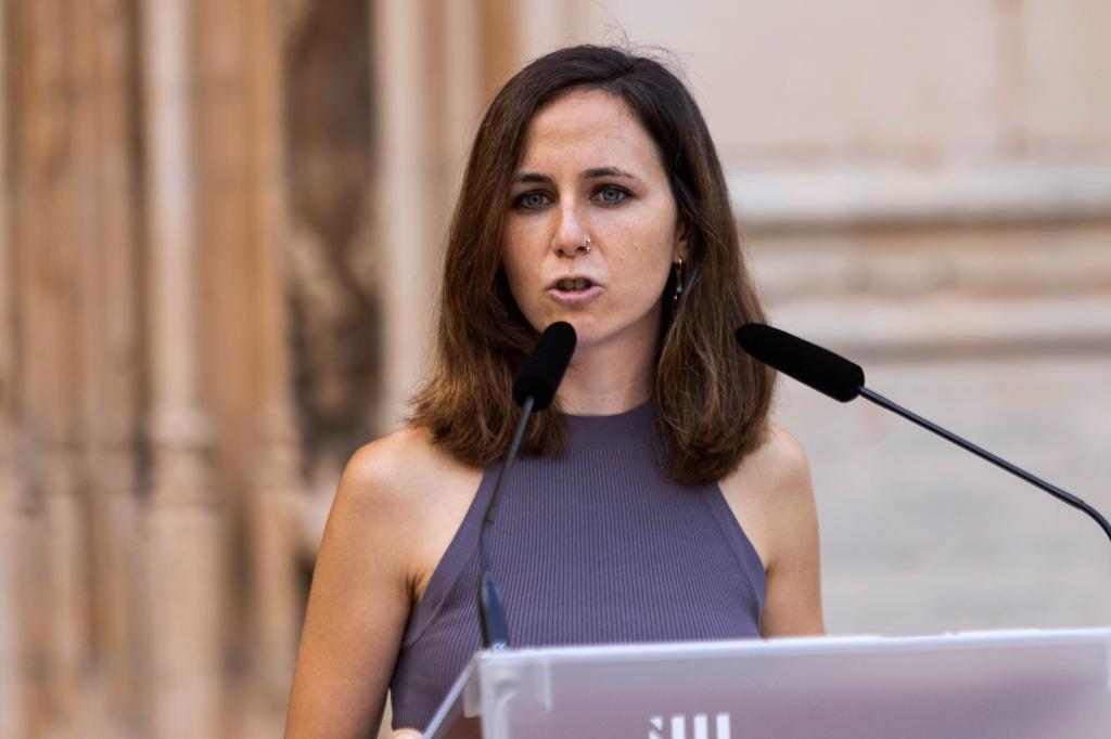 La secretria general de Unidas Podemos, Ione Belarra