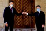 """Pedro Sánchez y Pere Aragonès consolidan un """"trabajo coordinado"""" frente a Carles Puigdemont"""