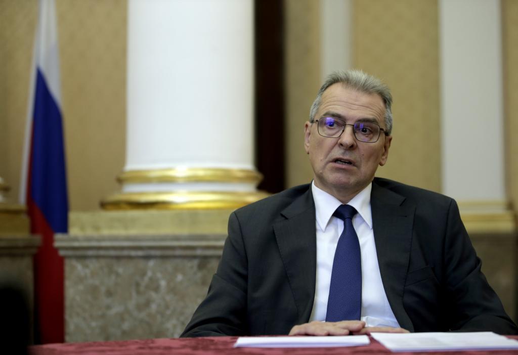 Dmitry Sokolov, ministro consejero de la embajada rusa.