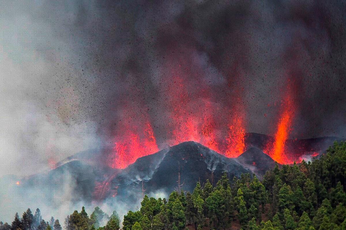 Recuerdos del volcán