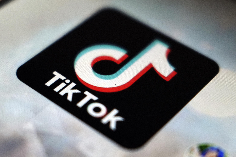 Logo de la red social TikTok.