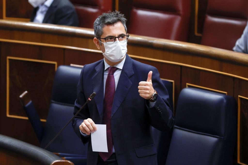 El ministro de la Presidencia, Félix Bolaños.