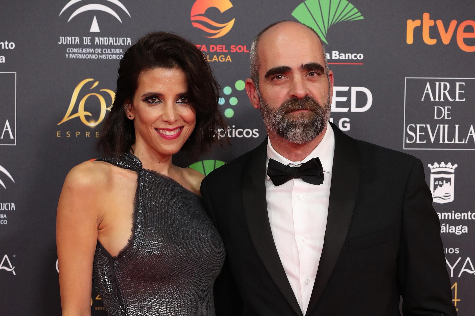Luis Tosar junto a su pareja, María Luisa Mayol