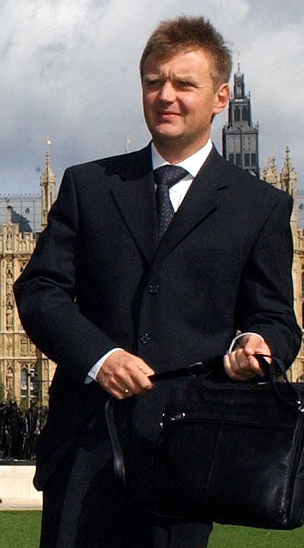 Alexander Litvinenko, en Londres, en 2004.