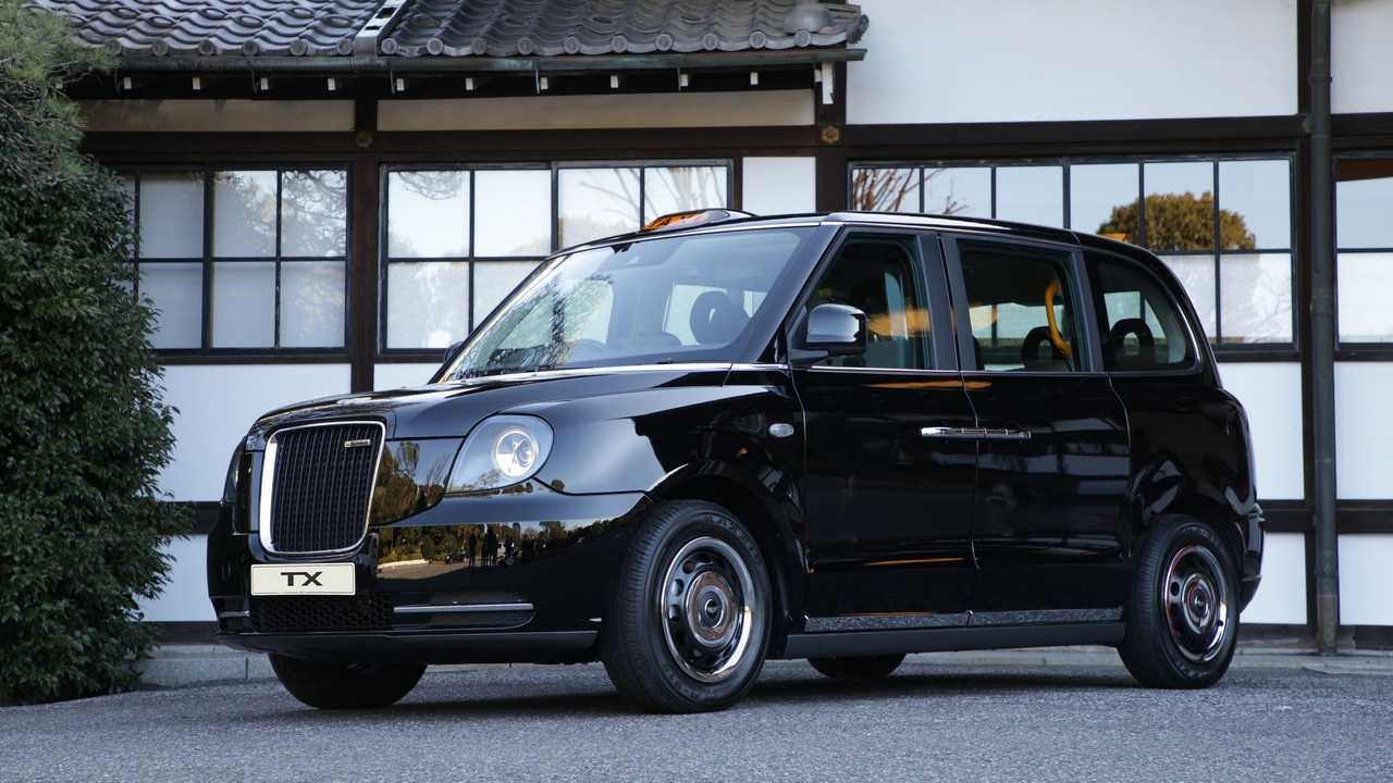 LEVC VN5 taxi de Londres, black cabs, coches eléctricos, furgonetas eléctricas