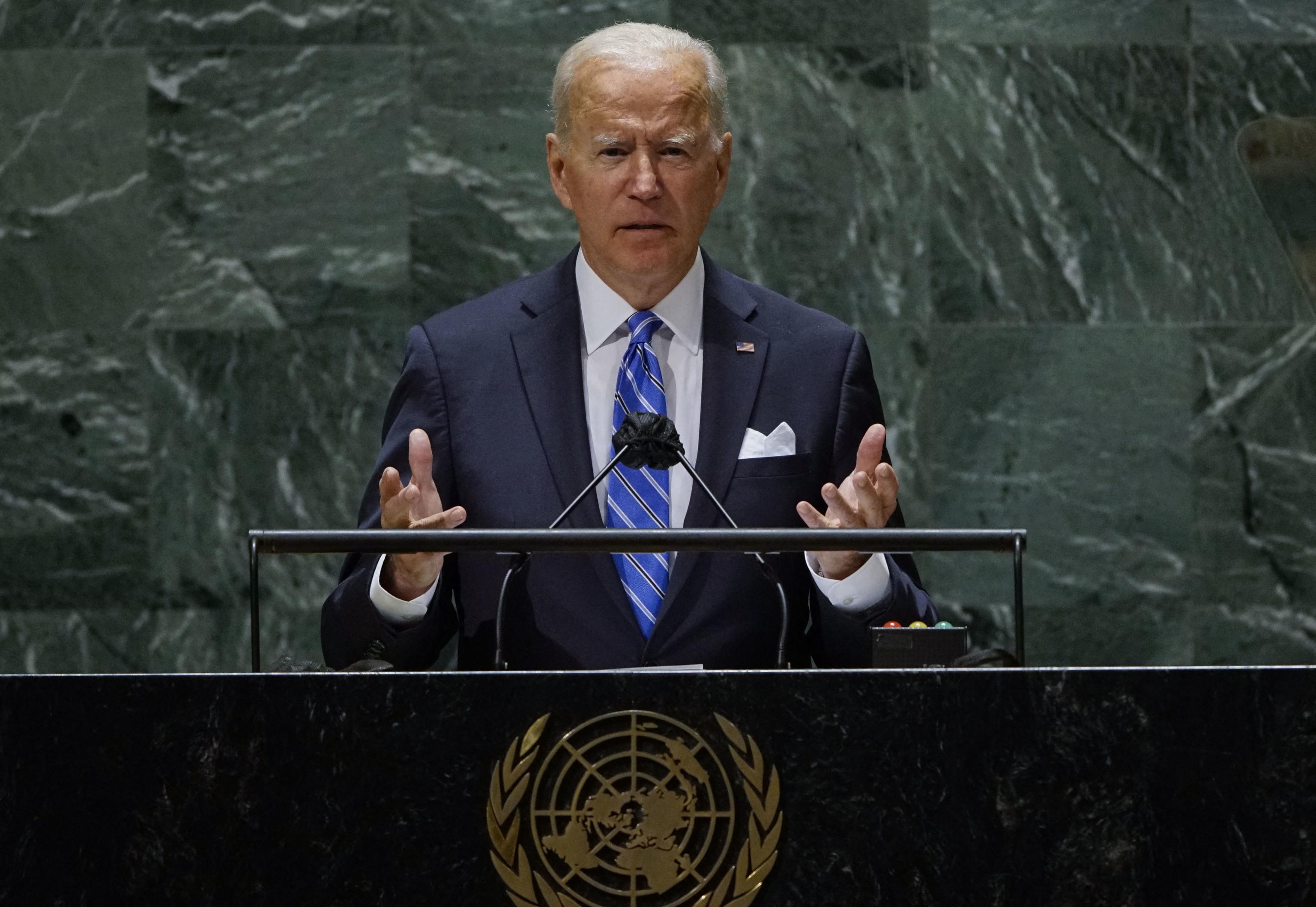 Biden promete paz y multilateralismo en la ONU a unos aliados escépticos |  Internacional