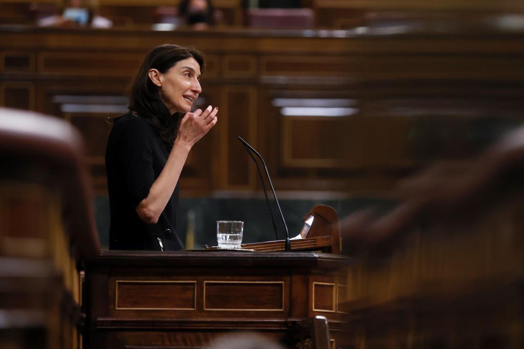 Pilar Llop, en el Congreso de los Diputados.