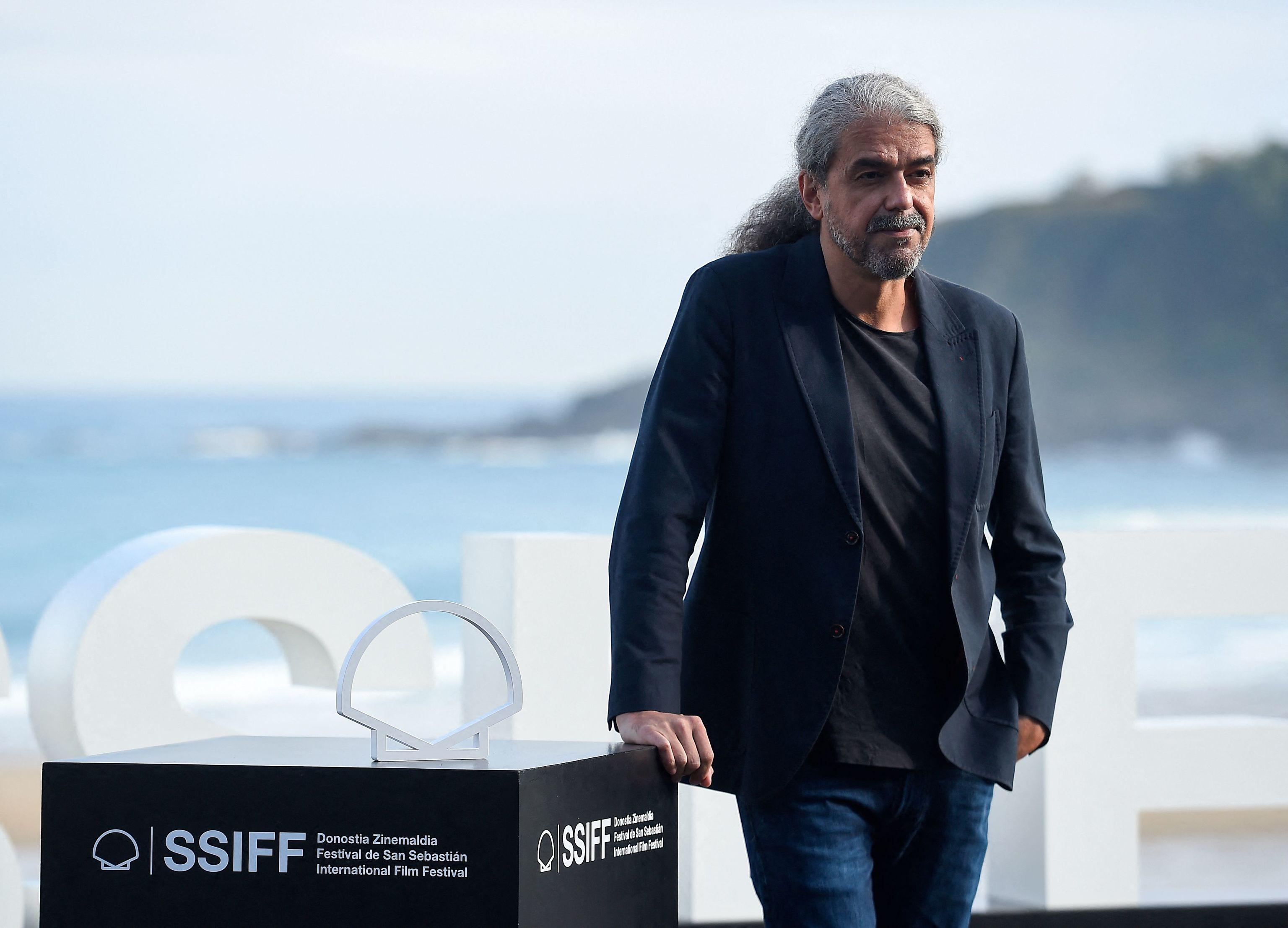 Fernando Leon de Aranoa en la presentación en San Sebastián de 'El buen patrón'.