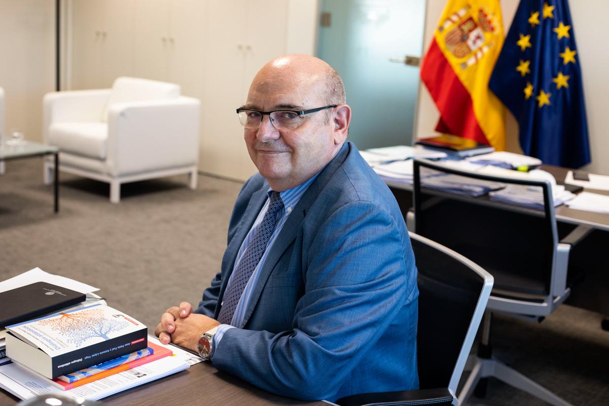 """José Manuel Pingarrón, 'número dos' de Castells: """"Es razonable que haya contenidos mínimos comunes en Selectividad en todas las autonomías"""""""