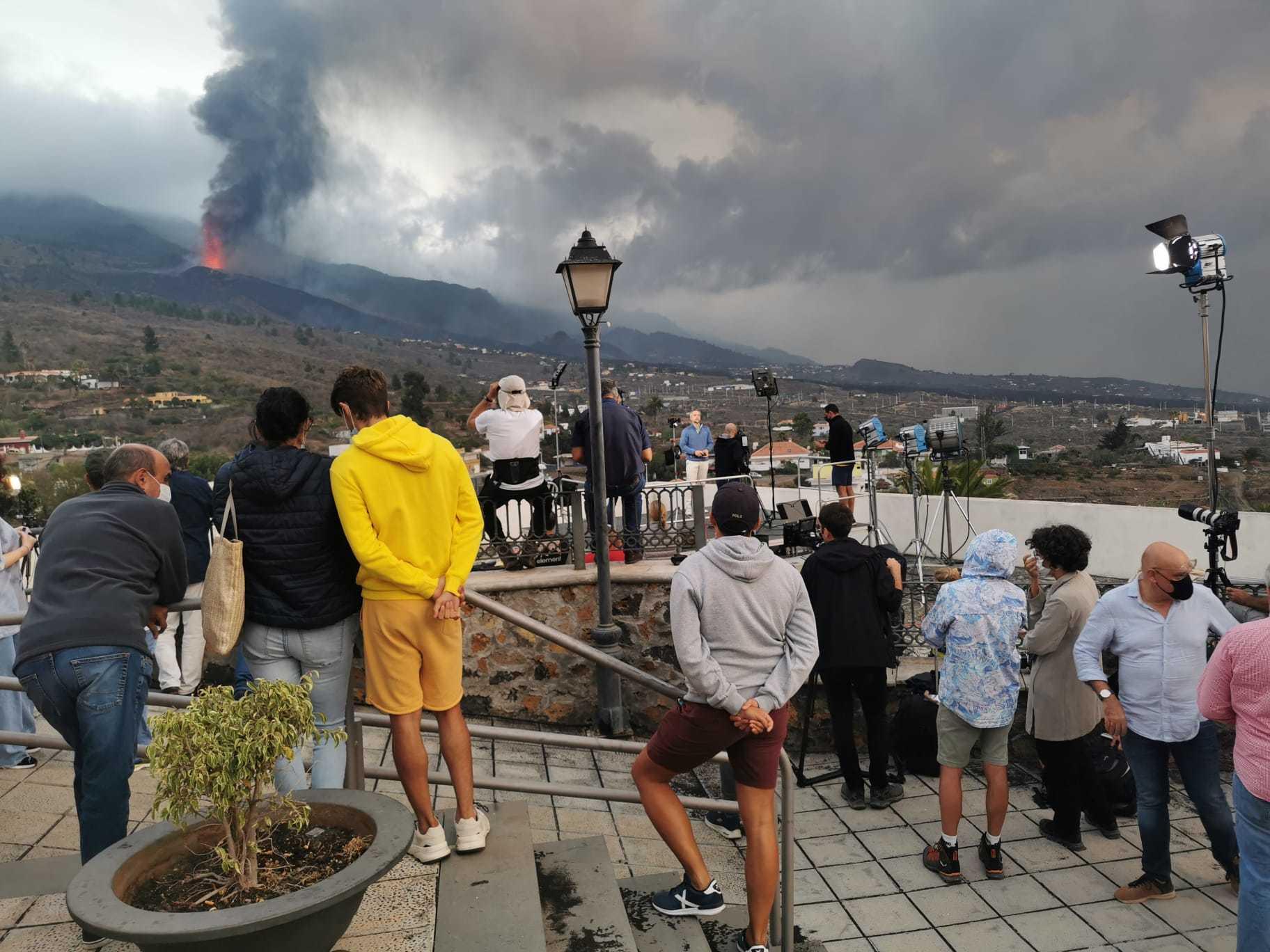 Volcán en La Palma, la erupción en directo | El volcán entra en fase  explosiva | Ciencia