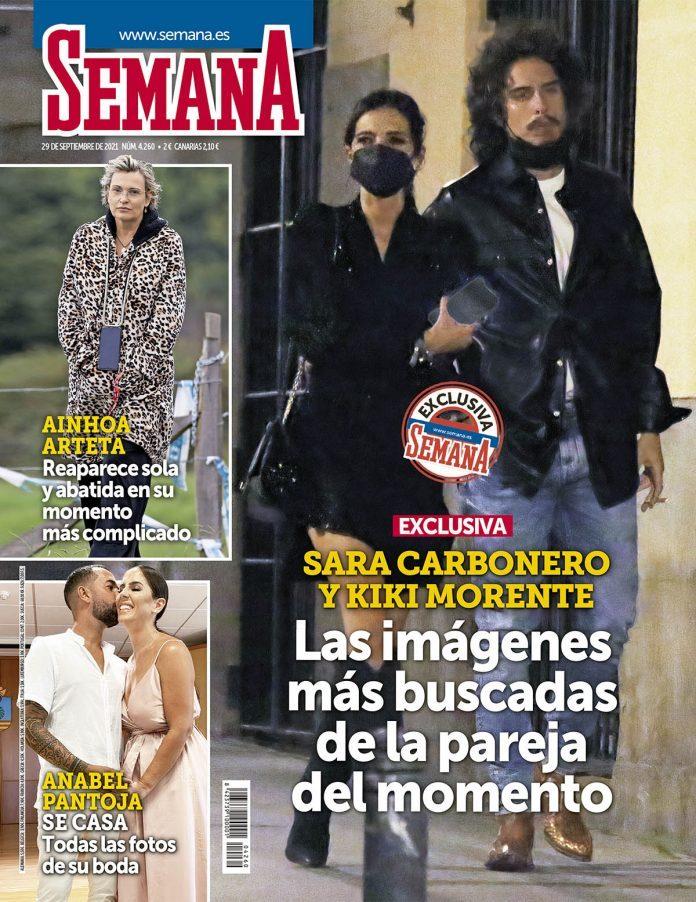 Sara Carbonero y Kiki Morente, la romántica cita que confirma su relación