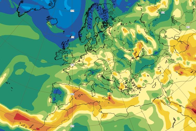 Predicción de la evolución de la pluma con dióxido de azufre para el miércoles y jueves