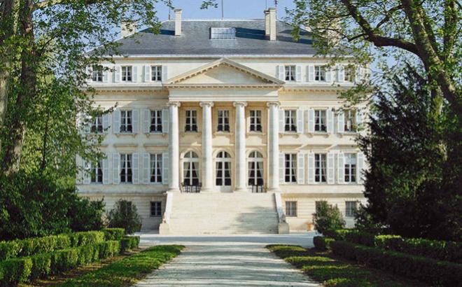 Château Margaux, el tercer mejor viñedo del mundo.