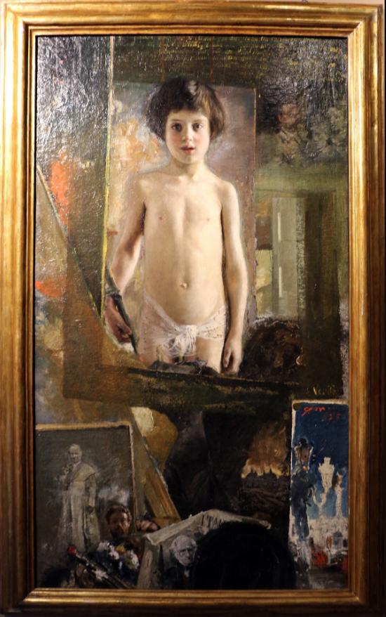 La Verità, por Antonio Mancini (1875)