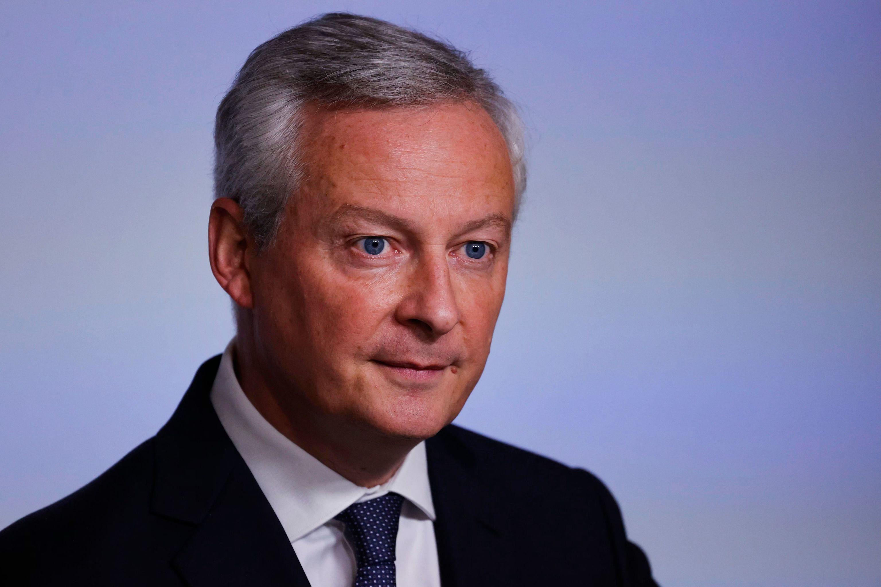 El ministro francés de Economía, Bruno Le Maire.