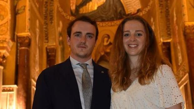 Jaime de Borbón-Dos Sicilias y Charlotte Lindesay-Bethune.