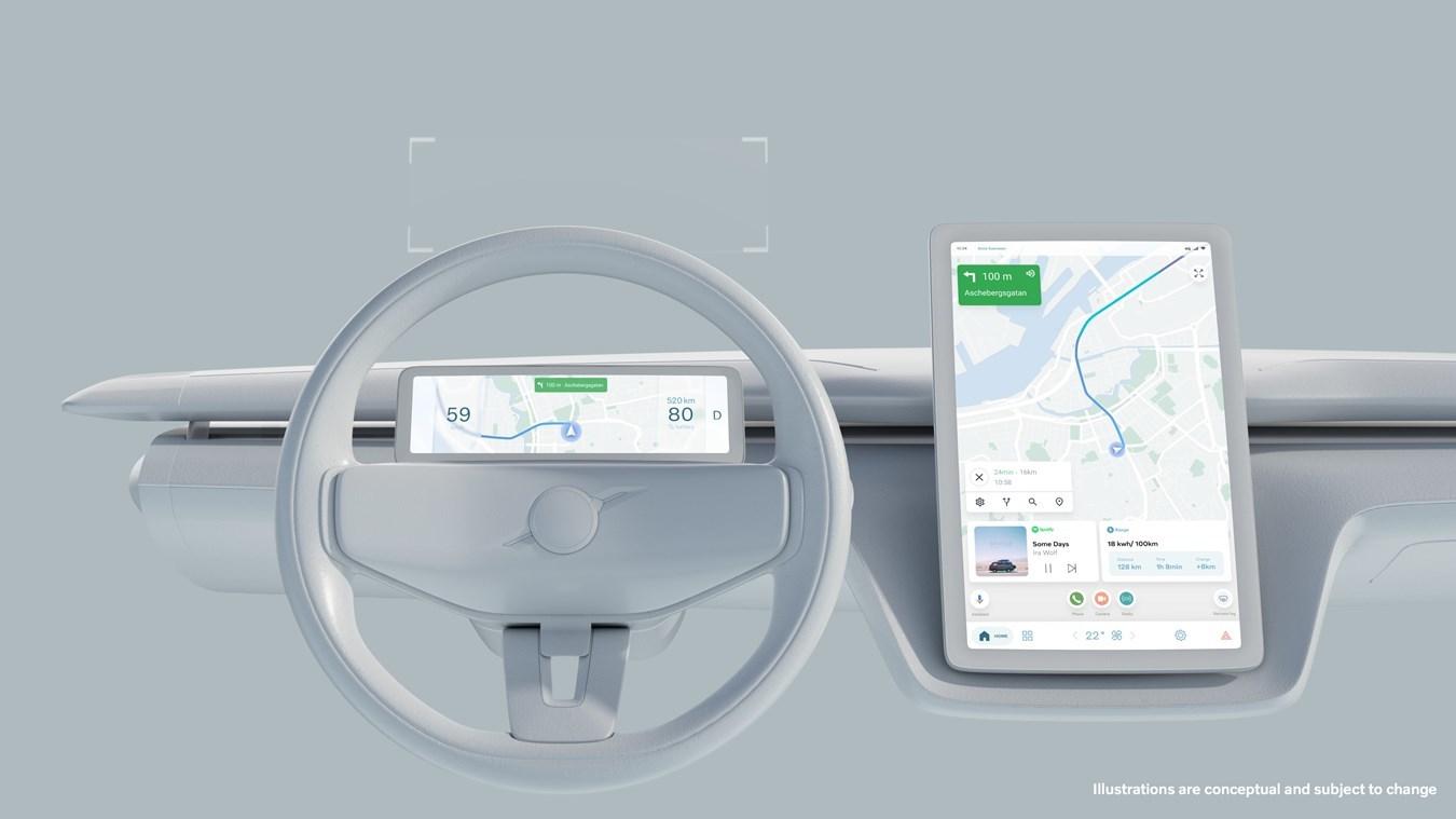 Volvo y Polestar son los fabricantes que ya venden modelos con el sistema operativo de Google integrado.