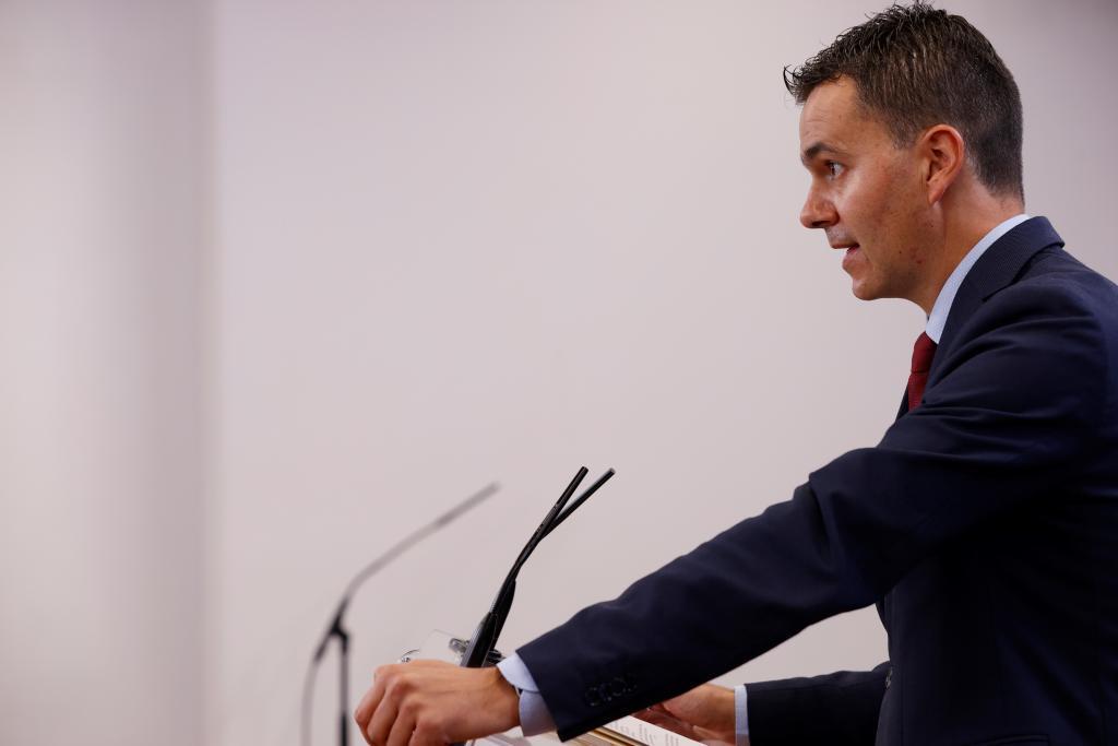 Héctor Gómez, portavoz parlamentario del PSOE.
