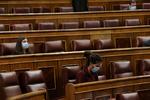 Los diputados se abonan al televoto de la pandemia para escaparse del Congreso