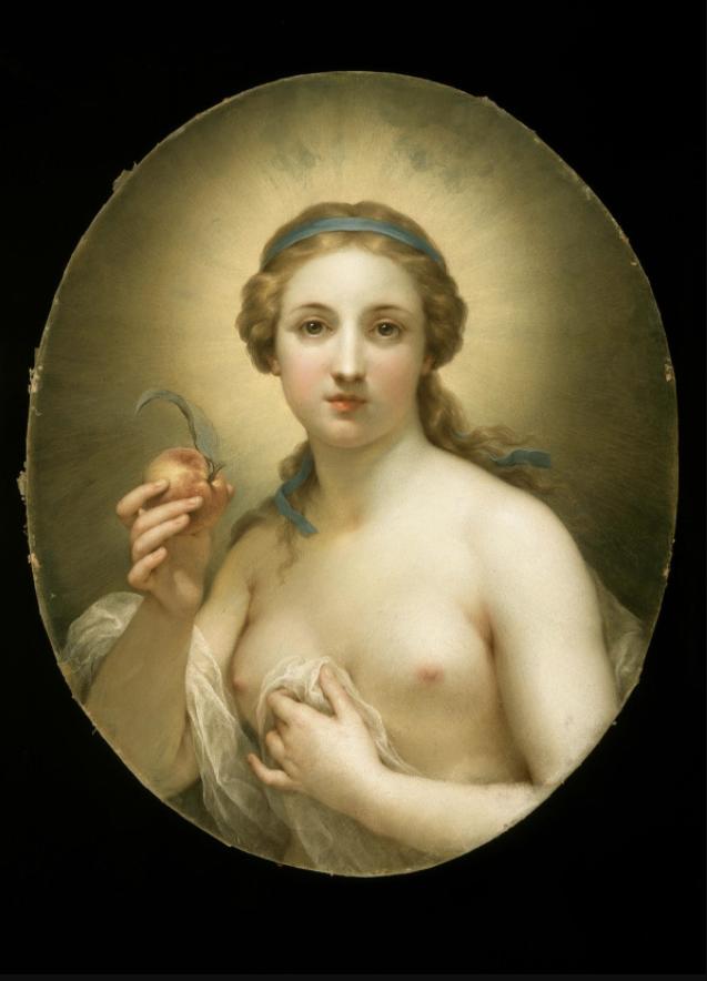La Verdad, por Anton Raphael Mengs  (1756)