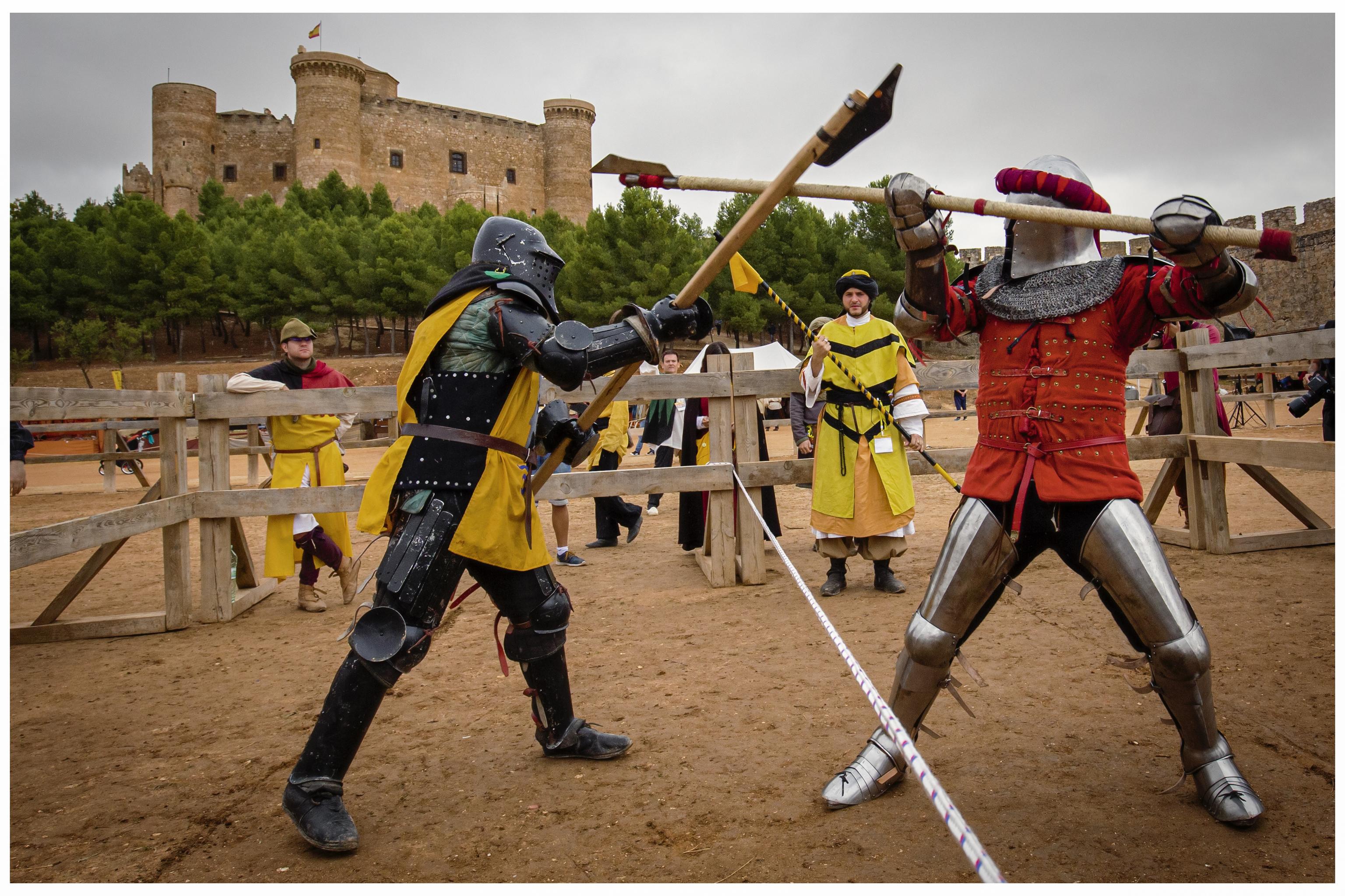 Las luchas con espada regresan a Castilla