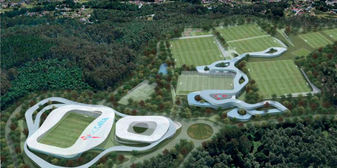 Proyecto completo de ciudad deportiva del Celta.