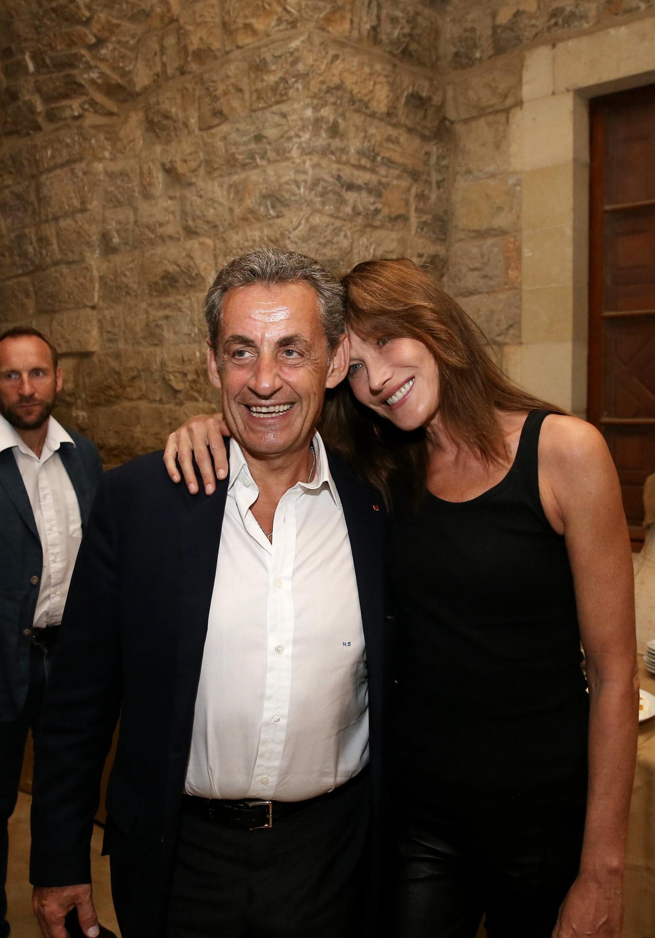 Nicolas Sarkozy y Carla Bruni llevan juntos desde 2007.
