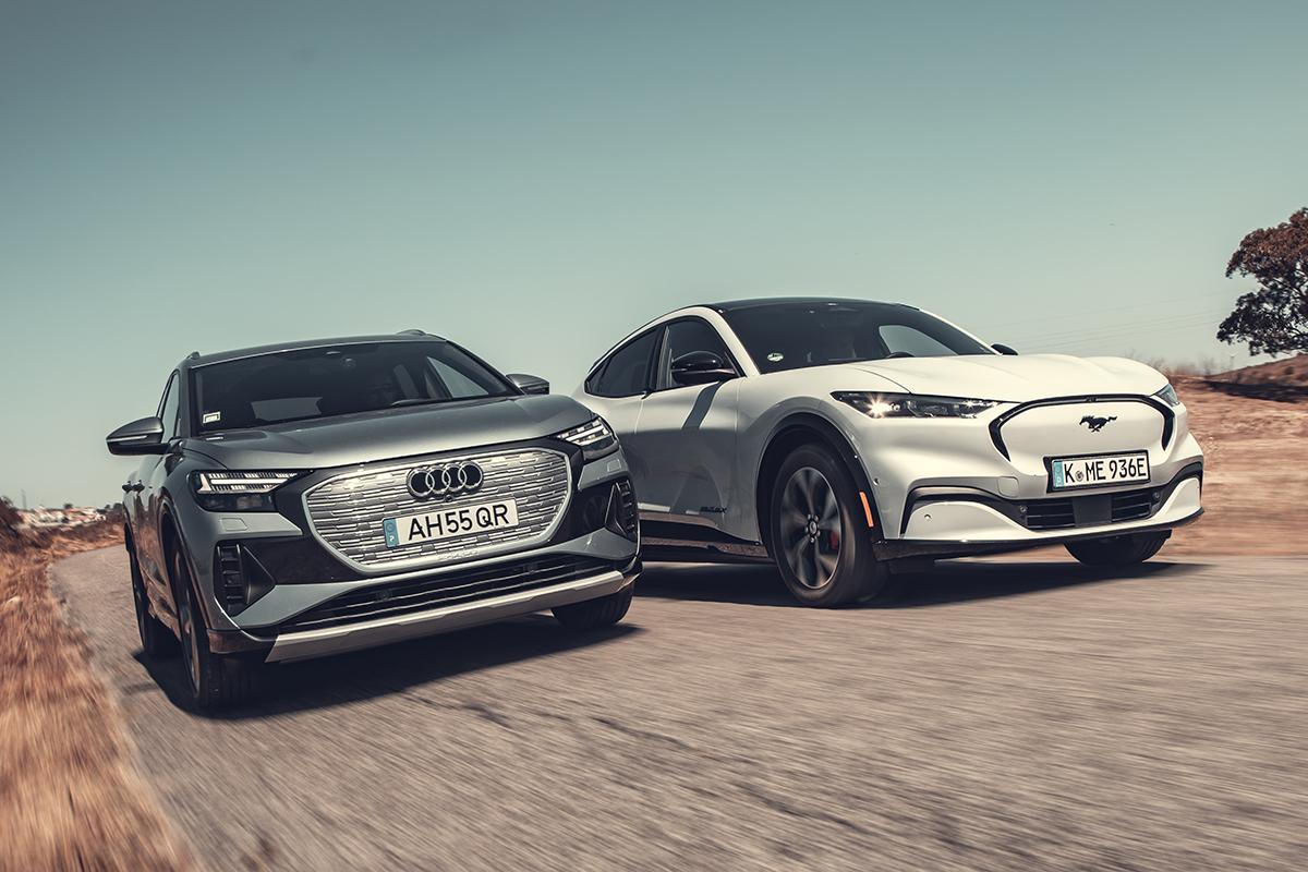 Ford Mustang Mach-E o Audi Q4 e-tron ¿Cuál de estos SUV eléctricos es mejor?