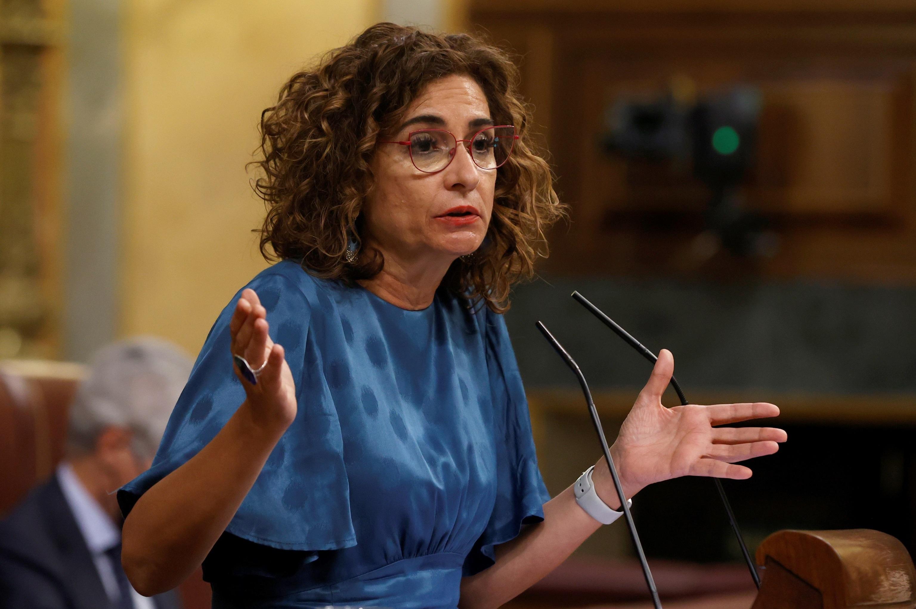 La ministra de Hacienda y Función Pública, María Jesús Montero, de quien depende Muface.