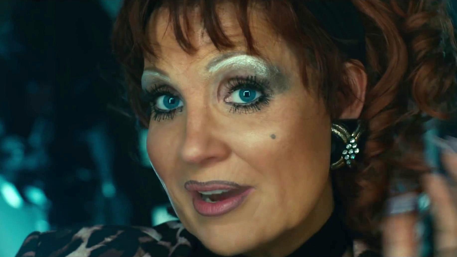 Jessica Chastain irreconocible en 'Los ojos de Tammy Faye'.