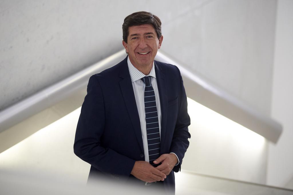 El vicepresidente de la Junta y coordinador autonómico de Ciudadanos, Juan Marín.