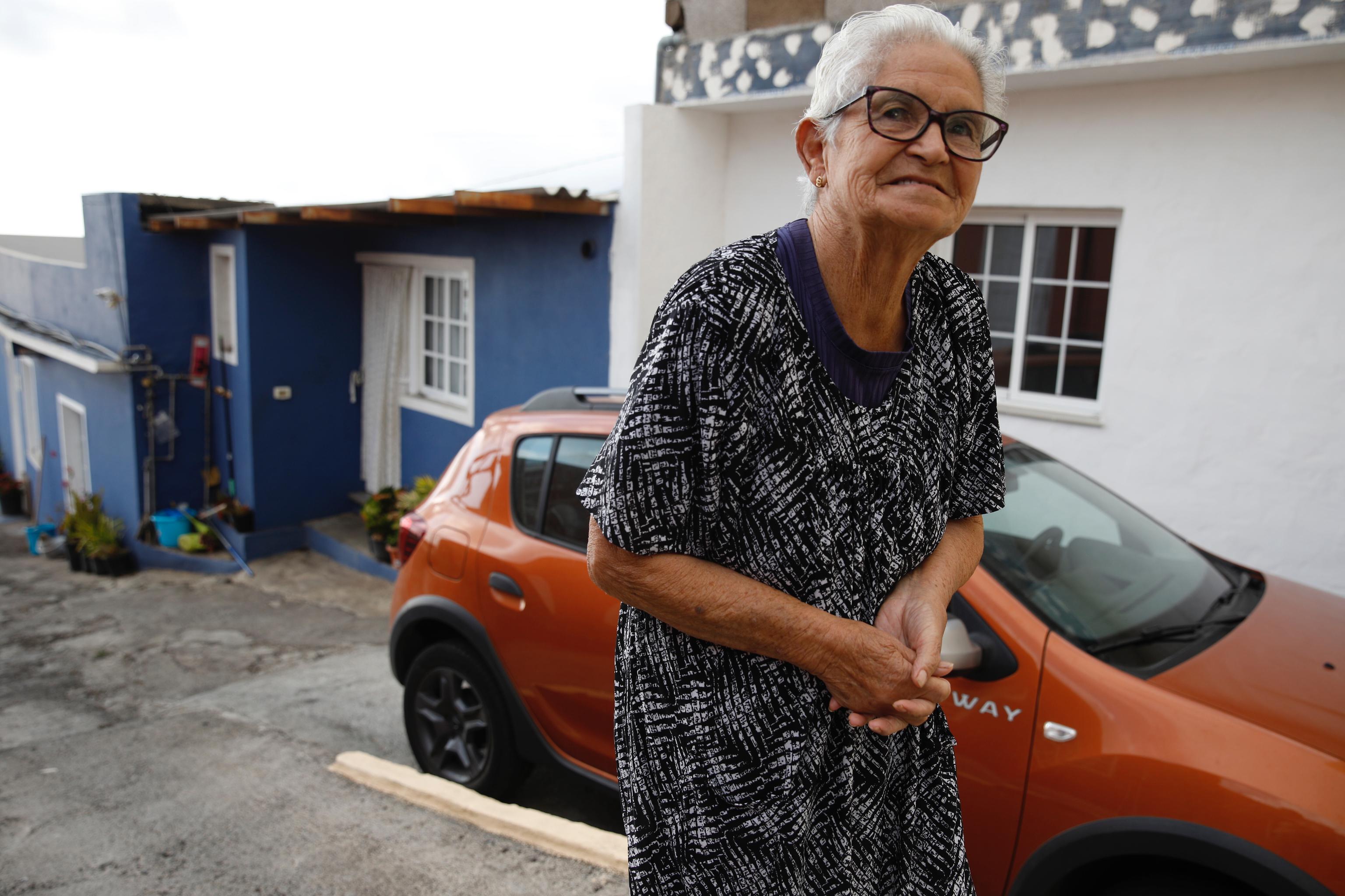 Hilda Pérez, vecina de Tacande de Arriba.