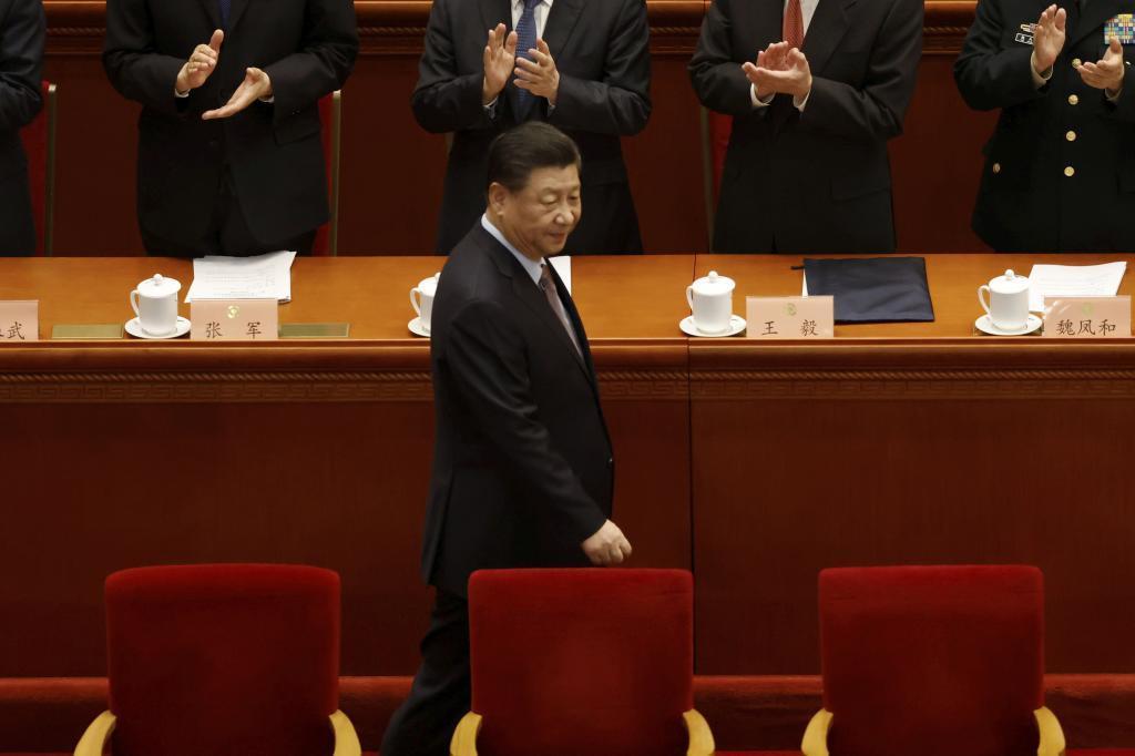 El presidente de la República Popular China, Xi Jinping
