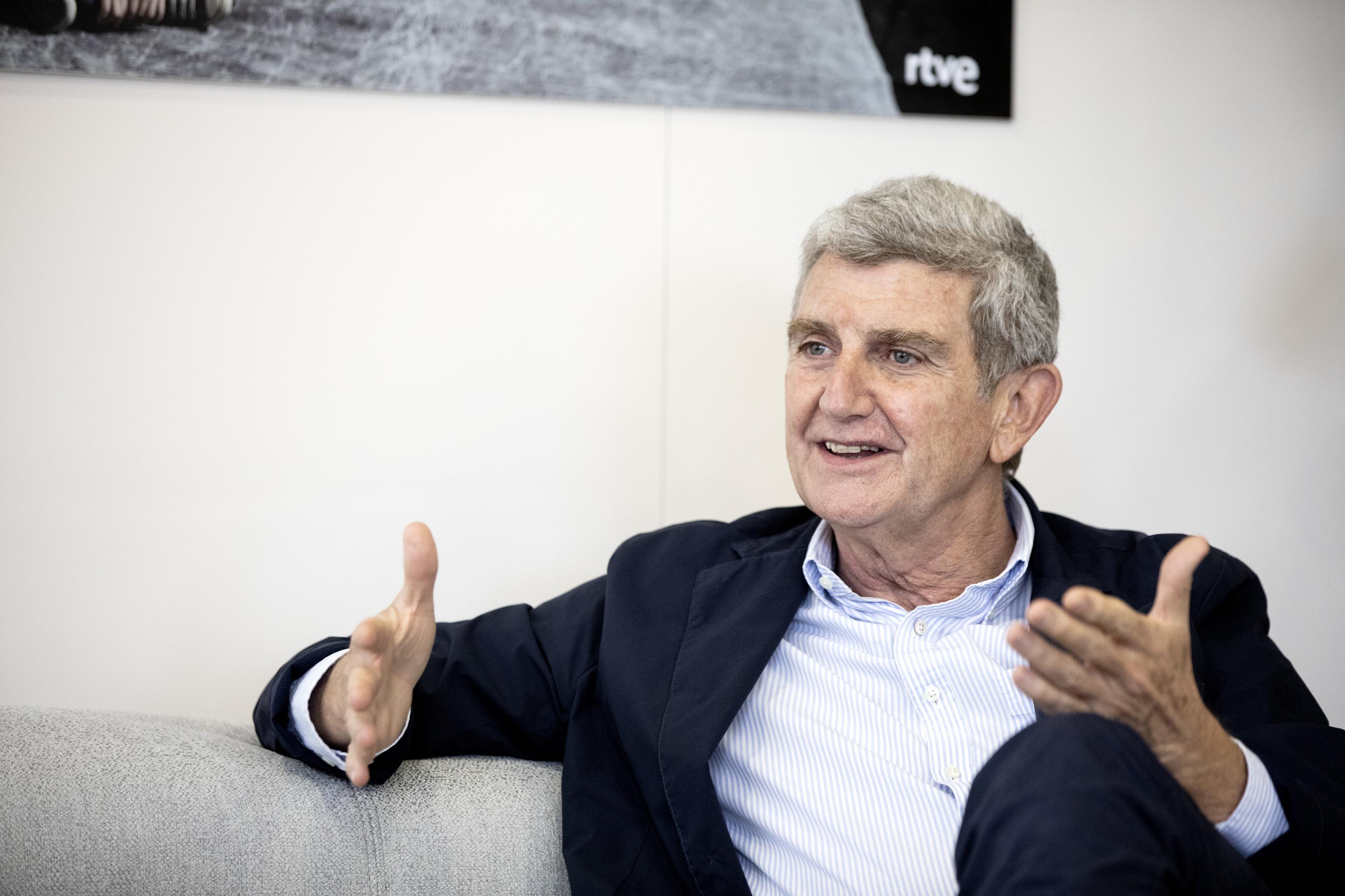 El presidente de la corporacion RTVE Jose Manuel Perez Tornero.