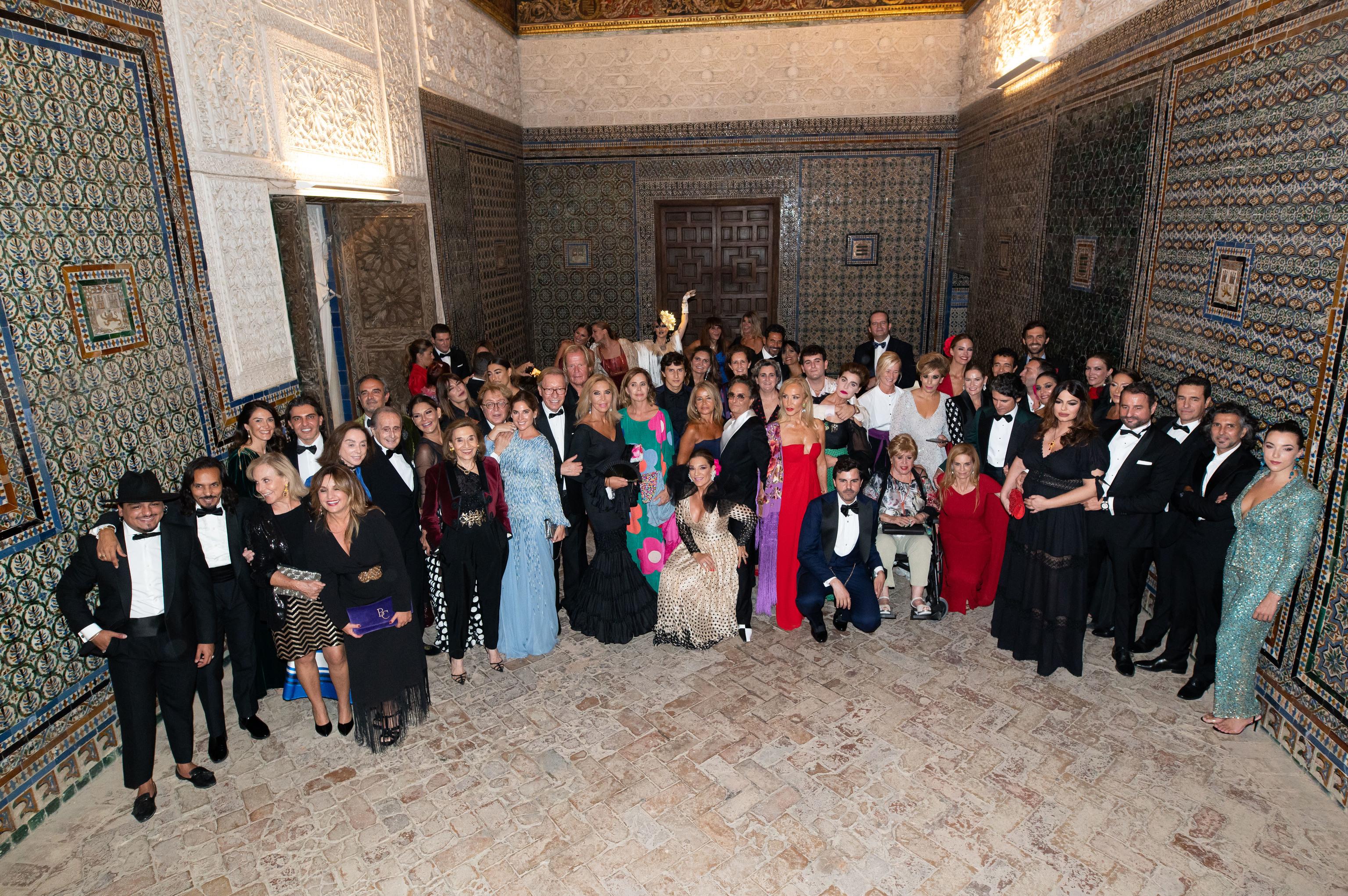 Foto de los asistentes.