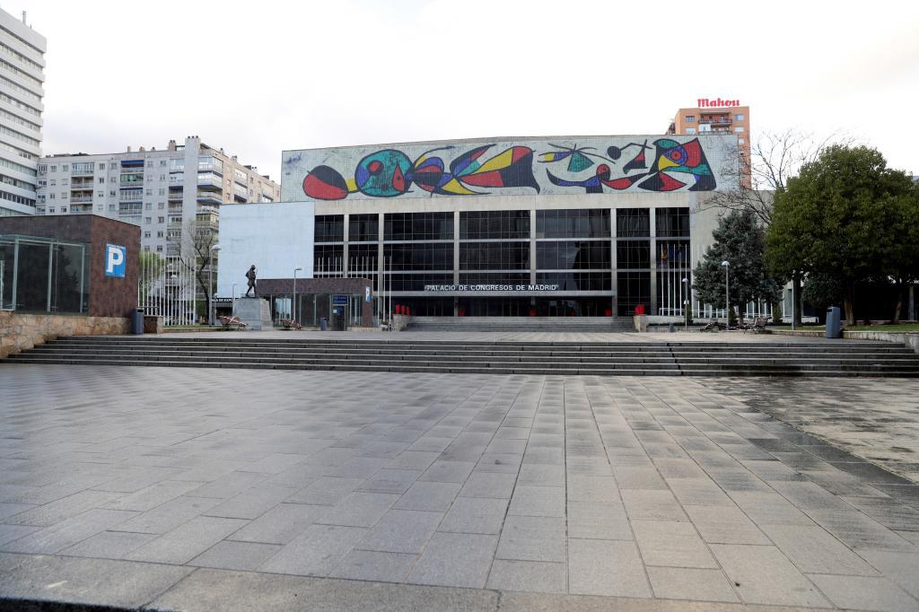 Futura sede de la OMT en Madrid, en el antiguo palacio de Congresos de la Castellana, en Madrid