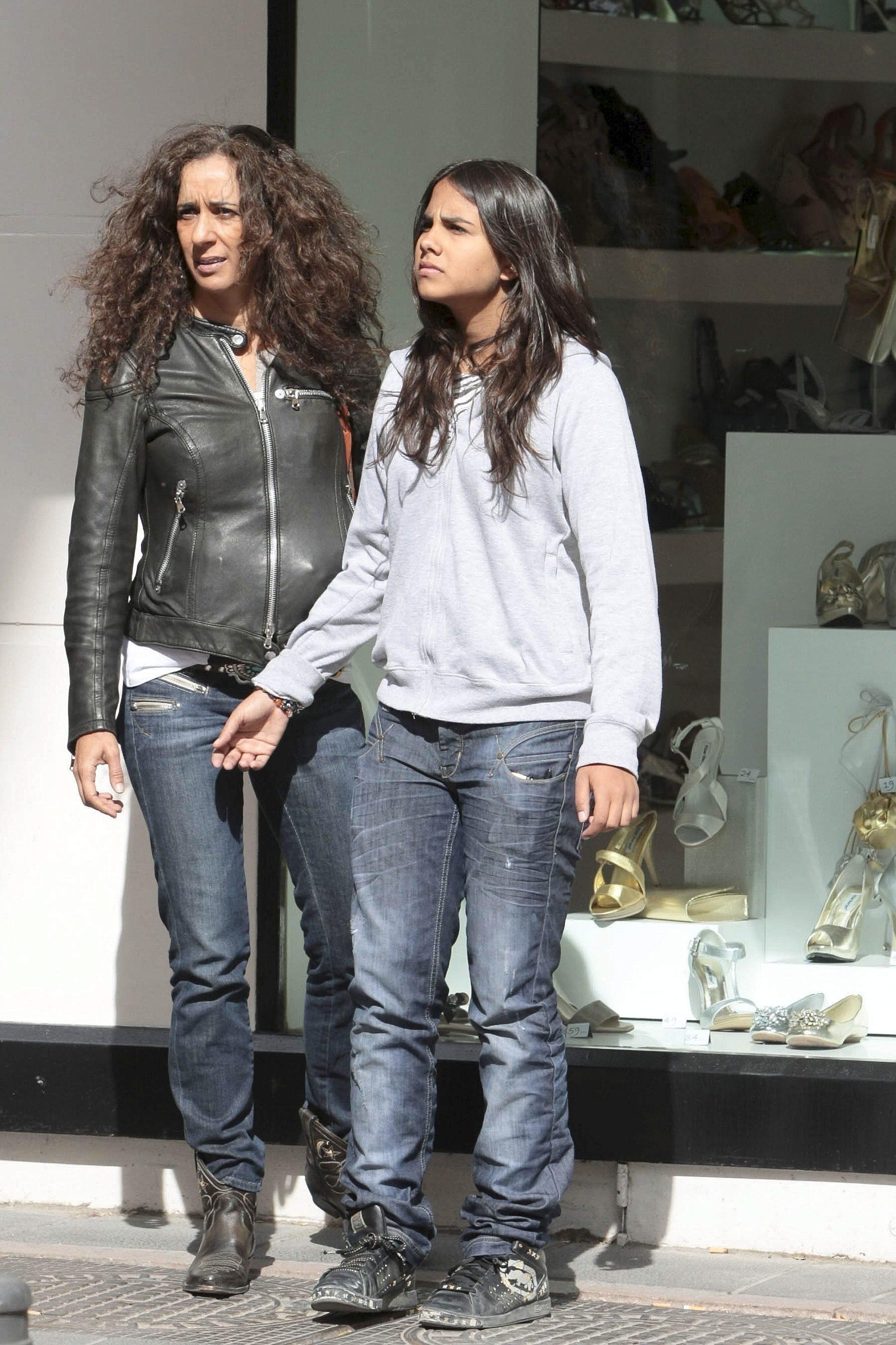 Rosario Flores y Lola Orellana, en una imagen de archivo.