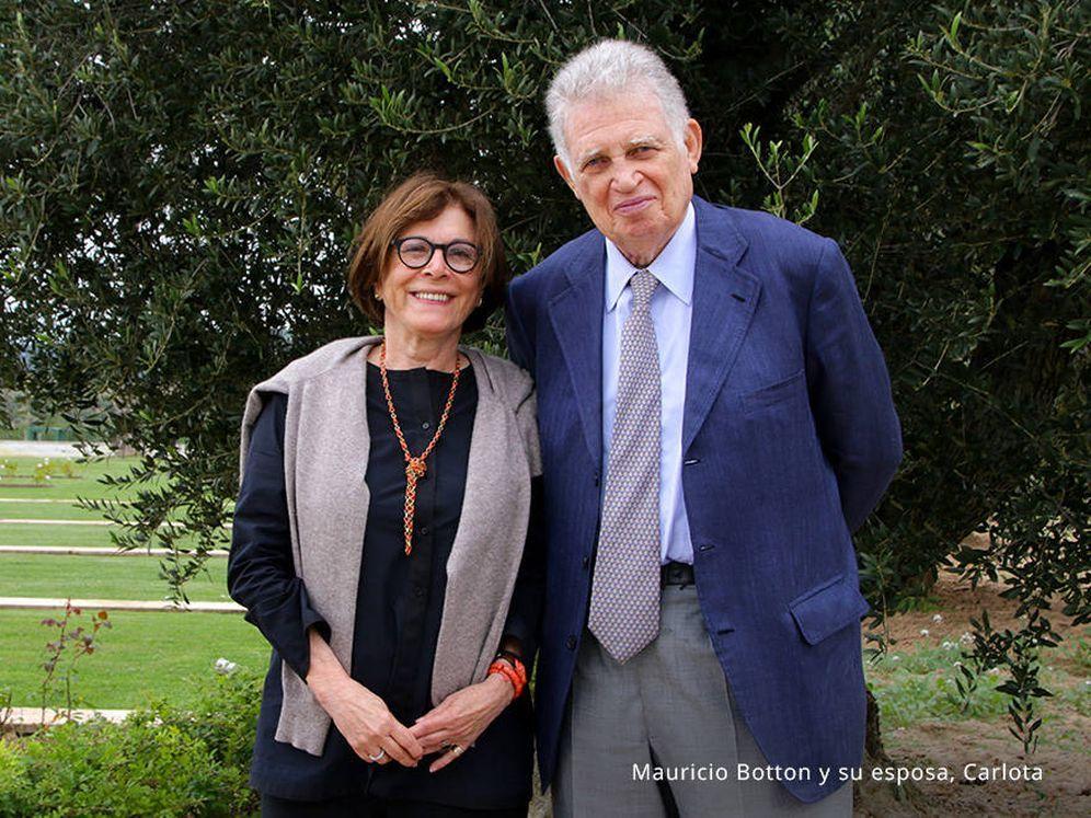 Mauricio y Carlota Botton en la finca La Gramanosa.