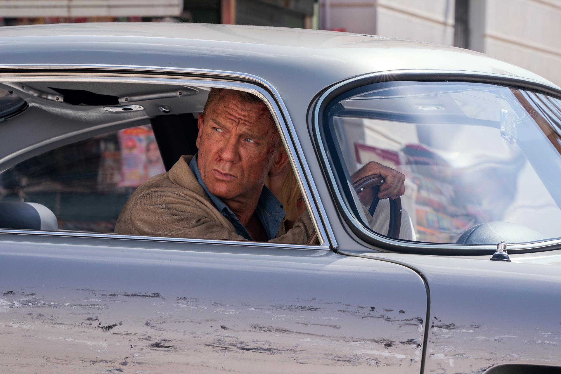 Daniel Craig en 'Sin tiempo para morir'.