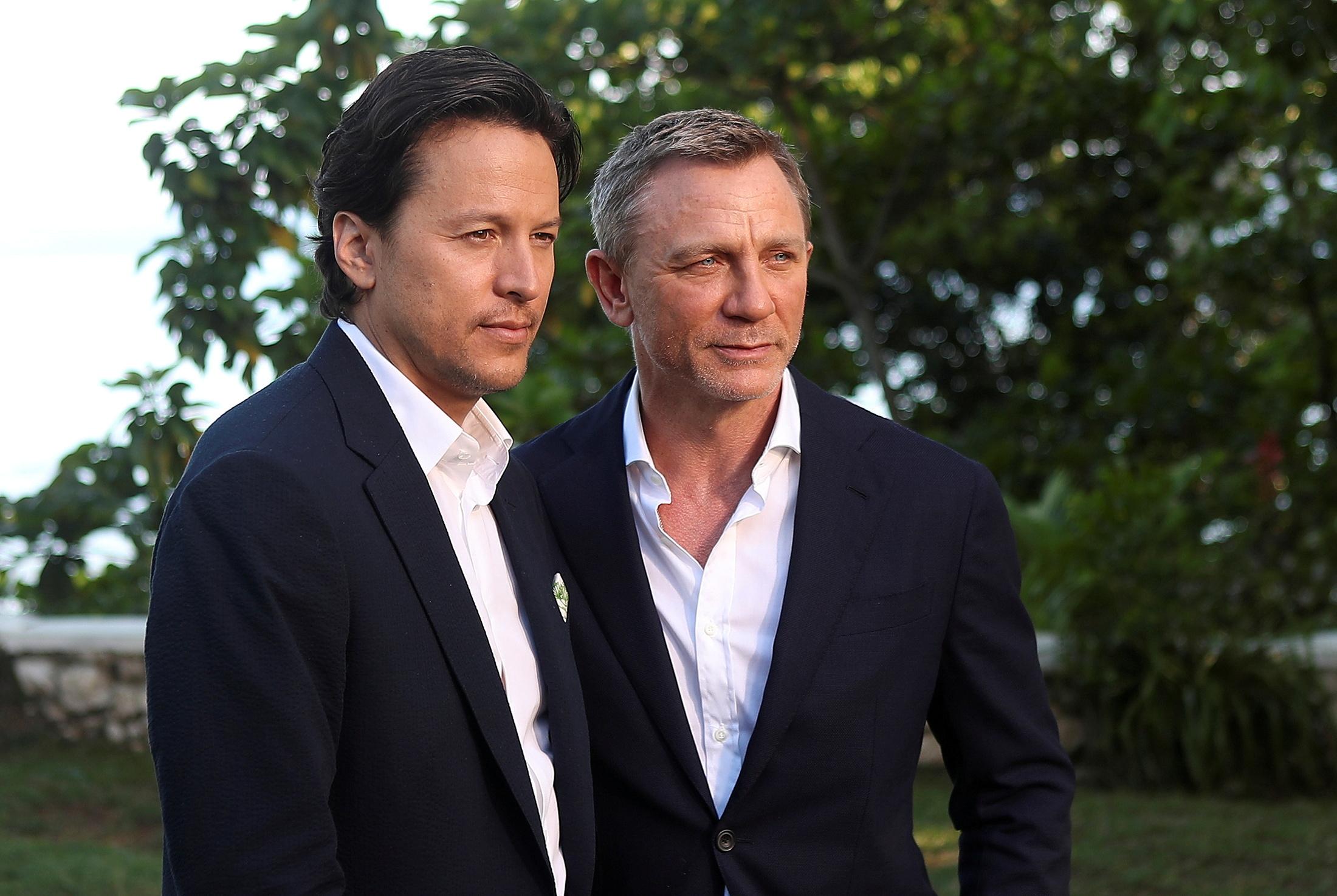 Cary Fukunaga y Daniel Craig.