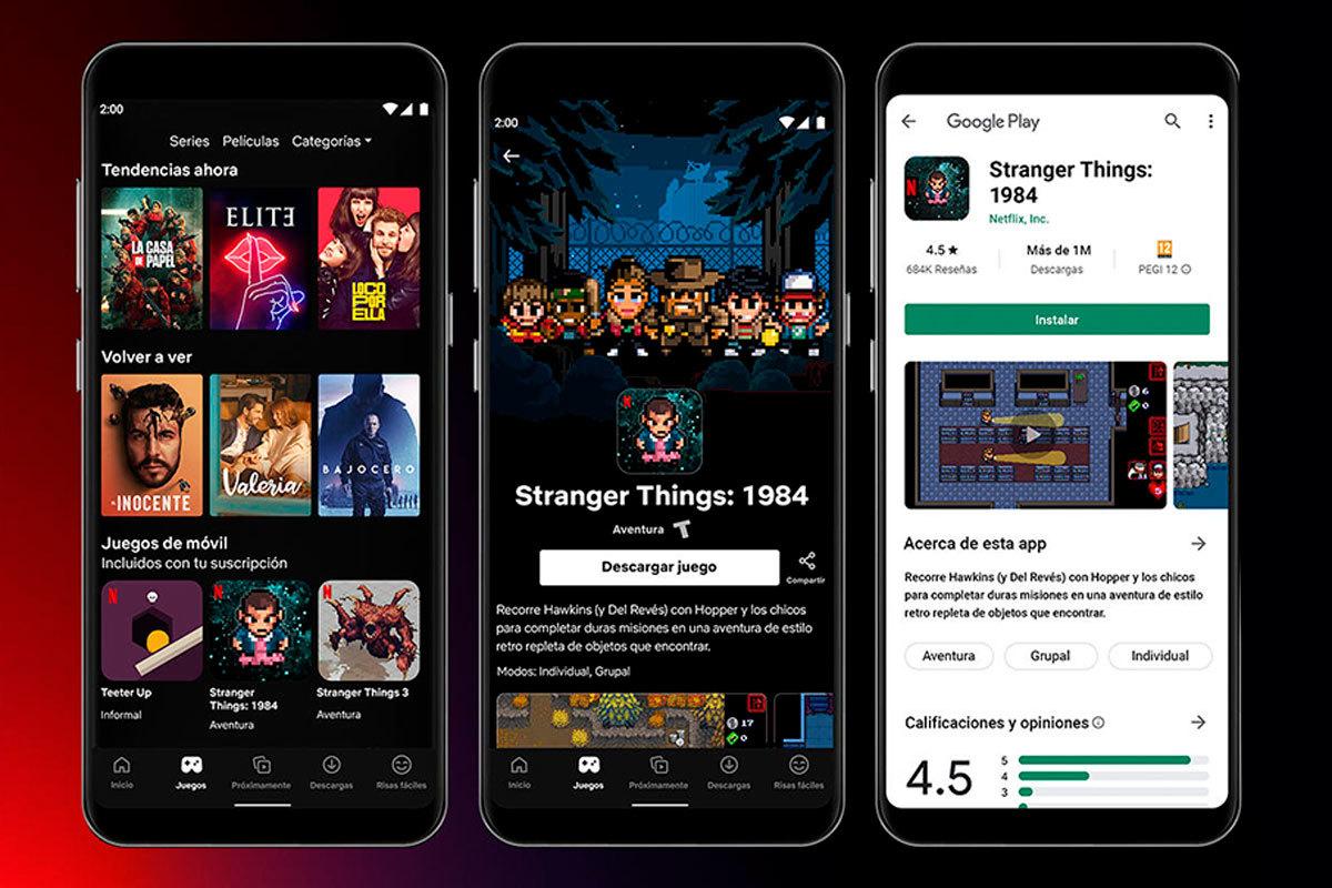Netflix anuncia sus primeros videojuegos para móvil