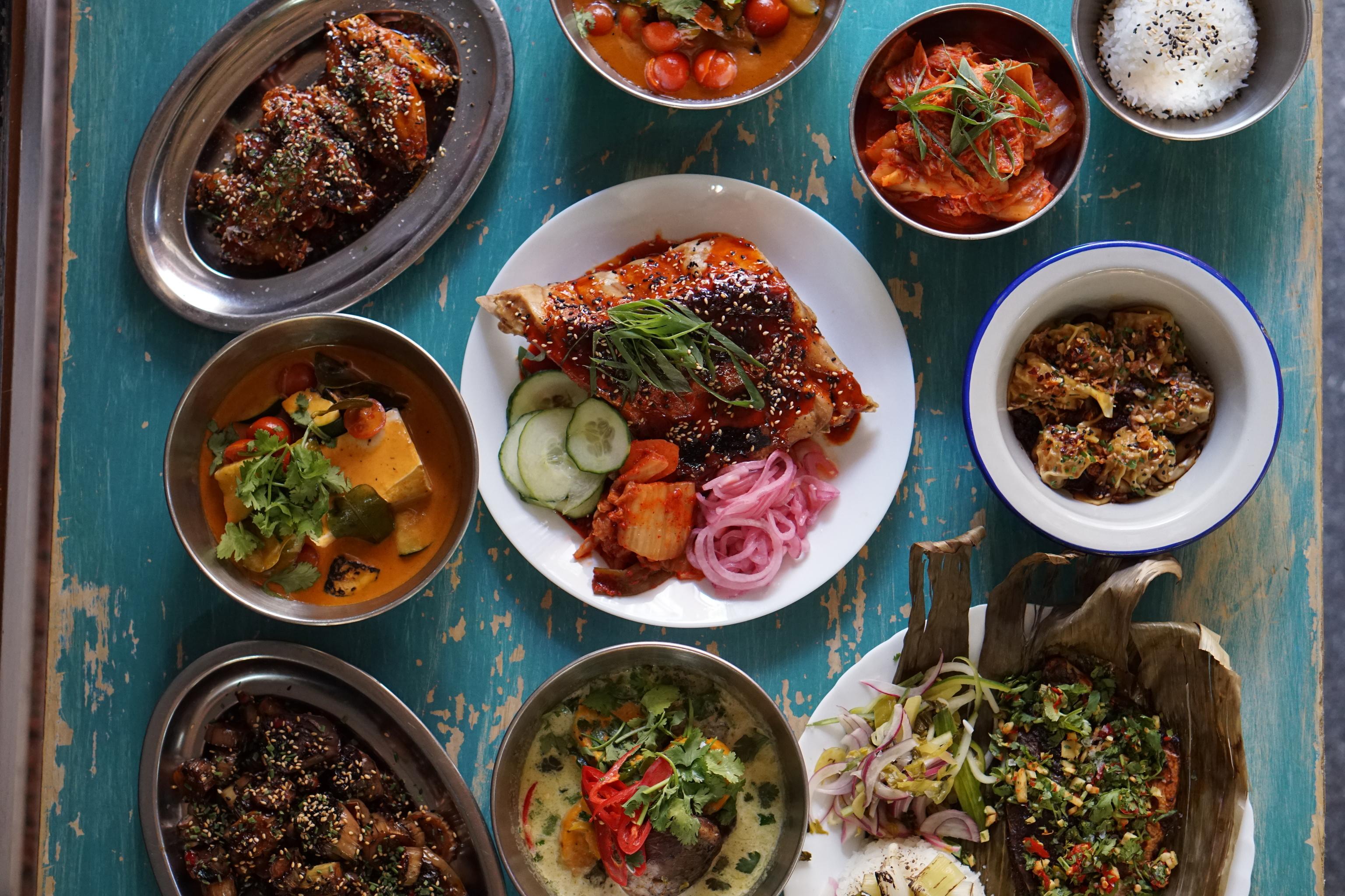 Selección de los platos de Kitchen 154.