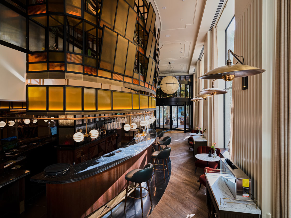 El lobby del nuevo Only You Hotel Valencia.