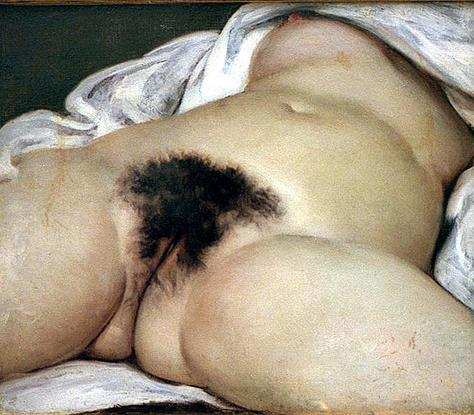 'El origen del mundo', de Gustave Courbet.