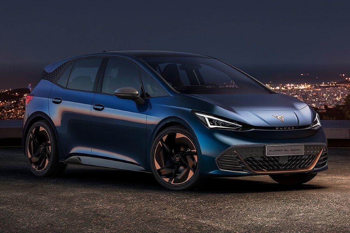 El compacto 100% eléctrico Cupra Born es una de las atracciones del Automobile Barcelona.